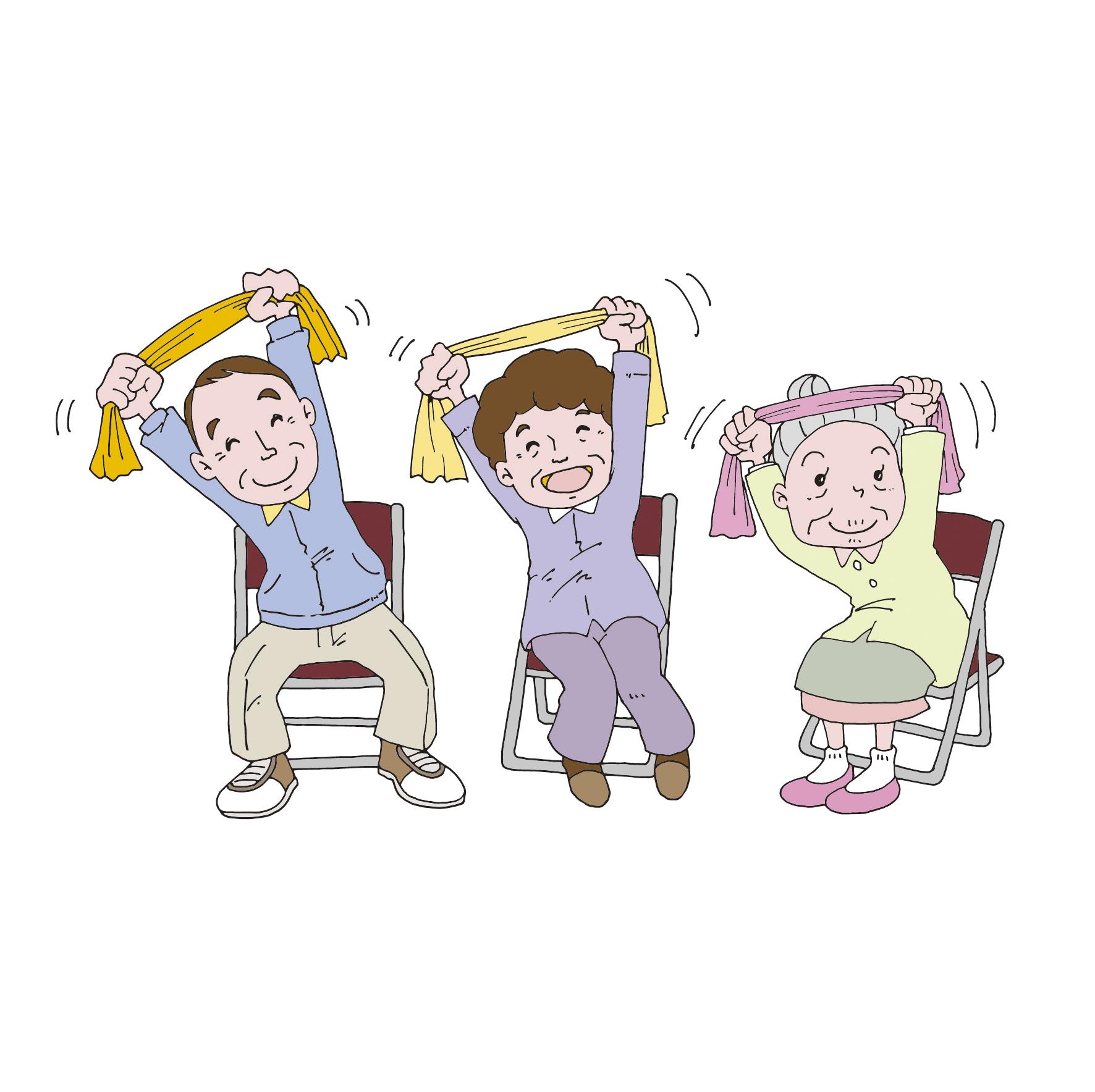 【高齢者レク】座ってできる体操!『超簡単』レクリエーション20選(上肢編)