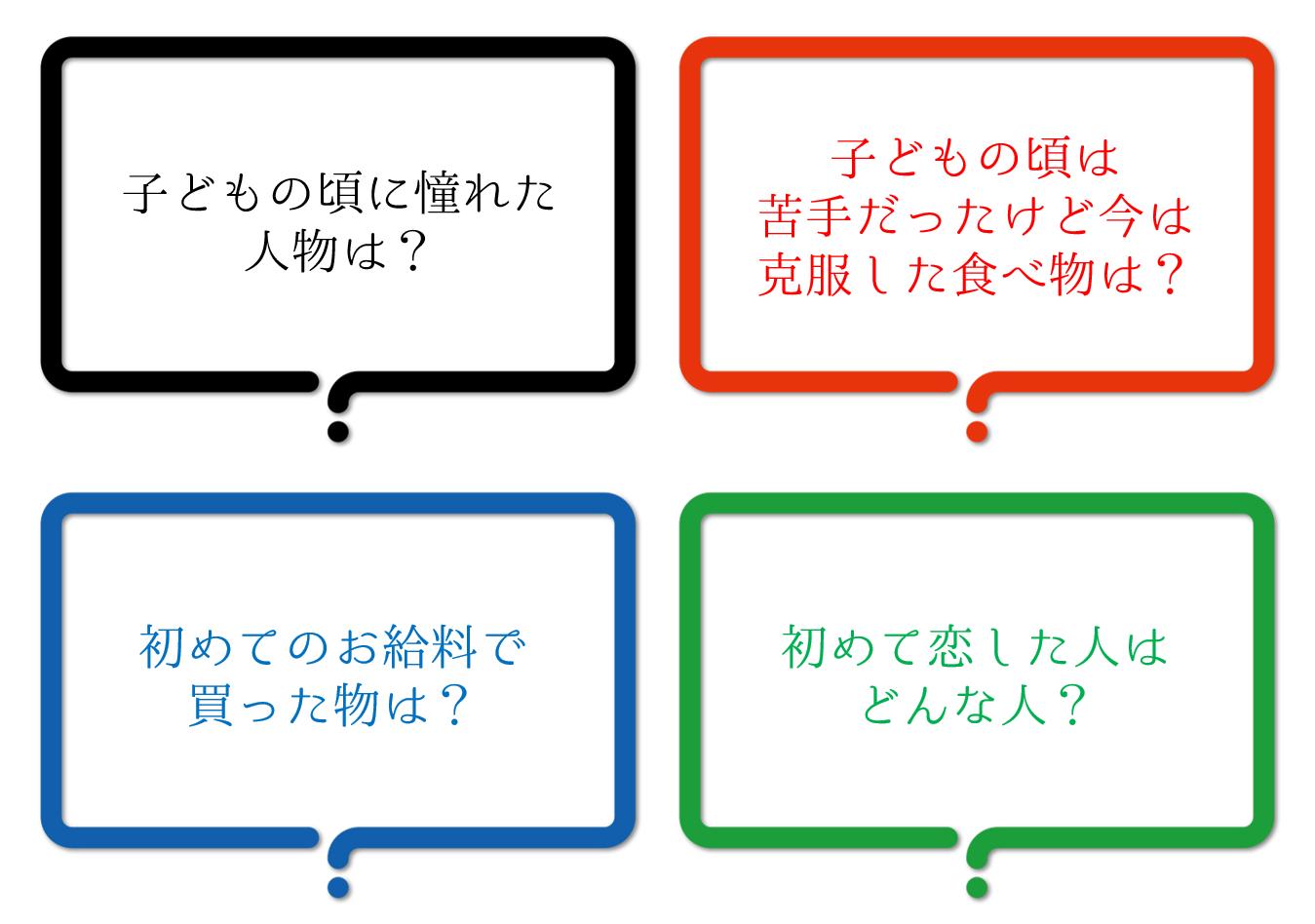 【高齢者向け質問レクリエーションゲーム】おすすめ!!やり方やコツ・お題を紹介