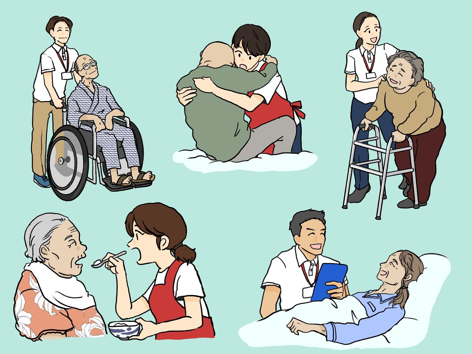 【高齢者が元気になる言葉(声かけ) 6選】お年寄りにかける喜ぶ言葉はこれ!!接し方のコツや注意点など
