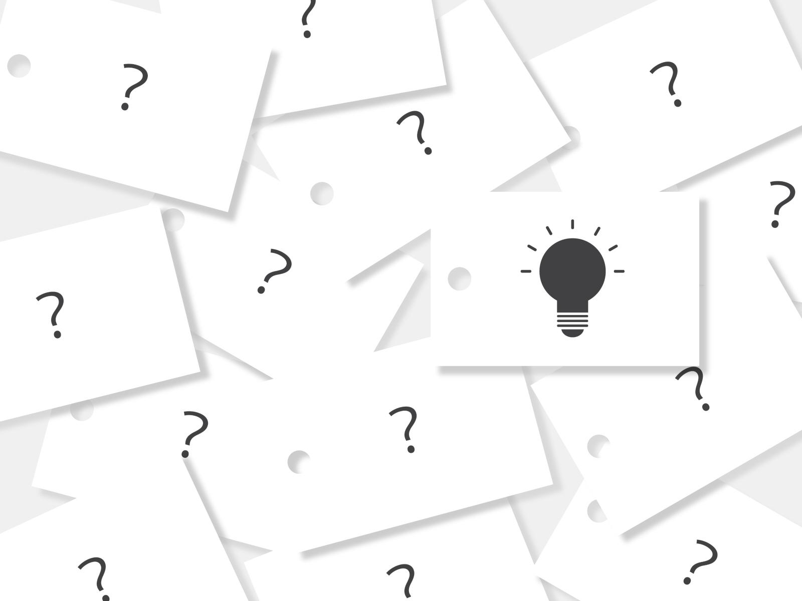 【なぞかけクイズ 20問】ひらめけ!!おすすめ簡単問題&難問を三択形式で紹介!